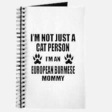 I'm an European Burmese Mommy Journal