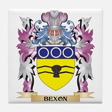 Bexon Coat of Arms (Family Crest) Tile Coaster