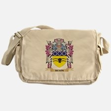Bexon Coat of Arms (Family Crest) Messenger Bag