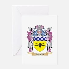Bexon Coat of Arms (Family Crest) Greeting Cards