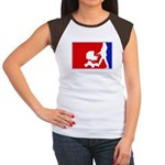 Major League Motherhood Women's Cap Sleeve T-Shirt