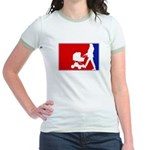 Major League Motherhood Jr. Ringer T-Shirt