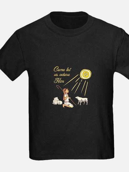 Come Let Us Adore Him T-Shirt