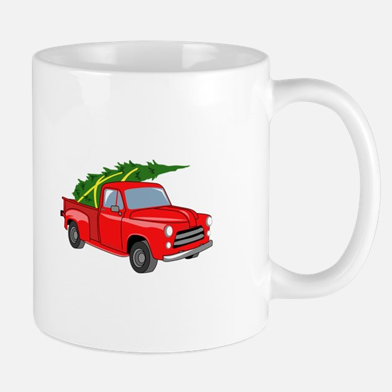 Bringing Tree Home Mugs