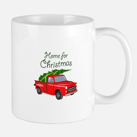 Home For Christmas Mugs