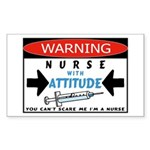 Nurse Rectangle Sticker