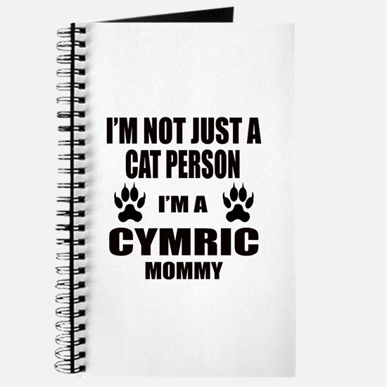 I'm a Cymric Mommy Journal