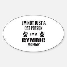 I'm a Cymric Mommy Decal