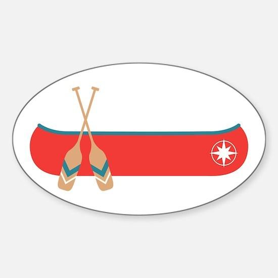 Canoe Decal