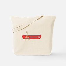 Get Lost Canoe Tote Bag
