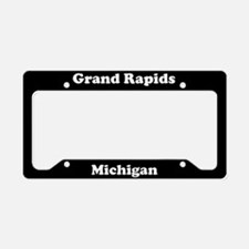 Grand Rapids MI License Plate Holder