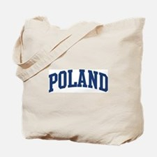 POLAND design (blue) Tote Bag