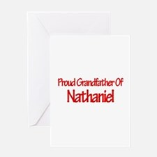 Proud Grandfather of Nathanie Greeting Card