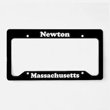 Newton MA License Plate Holder