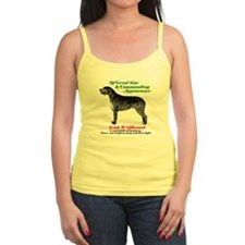 Cute Irish wolfhound Tank Top