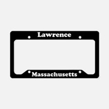 Lawrence MA License Plate Holder