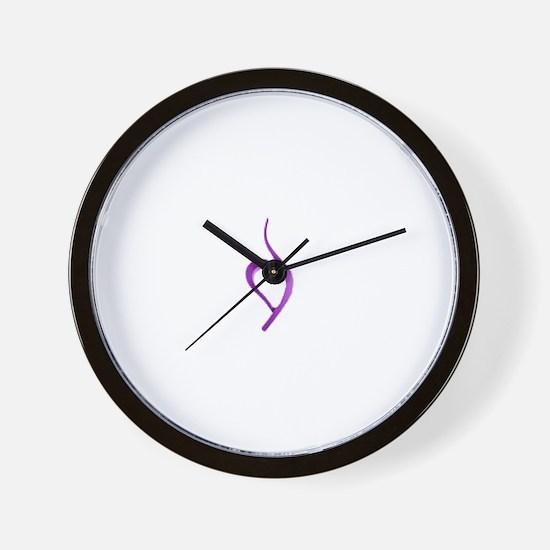 Cute Bulimia Wall Clock