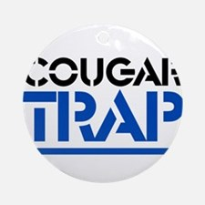 Cougar Trap Ornament (Round)