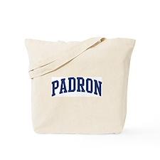 PADRON design (blue) Tote Bag