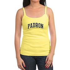PADRON design (blue) Jr.Spaghetti Strap