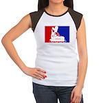 Major League Inline Skating  Women's Cap Sleeve T-