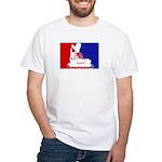 Major League Inline Skating White T-Shirt