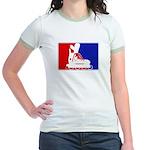 Major League Inline Skating  Jr. Ringer T-Shirt