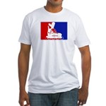 Major League Inline Skating  Fitted T-Shirt