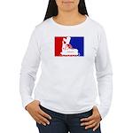 Major League Inline Skating  Women's Long Sleeve T