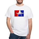 Major League Hurdling White T-Shirt