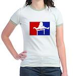 Major League Hurdling Jr. Ringer T-Shirt