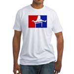 Major League Hurdling Fitted T-Shirt