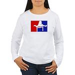 Major League Hurdling Women's Long Sleeve T-Shirt