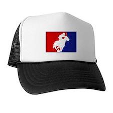 Major League Horse Racing Trucker Hat