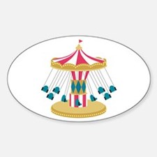 Carnival Swings Decal
