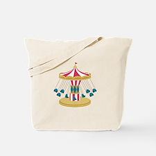 Carnival Swings Tote Bag