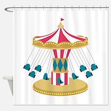 Carnival Swings Shower Curtain