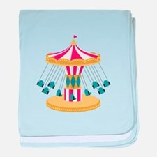 Carnival Swings baby blanket