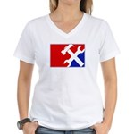 Major League Handyman Women's V-Neck T-Shirt