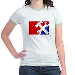 Major League Handyman Jr. Ringer T-Shirt