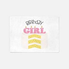 Birthday Girl 5'x7'Area Rug