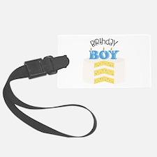 Birthday Boy Luggage Tag