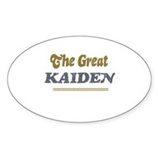 Kaiden Oval Decal