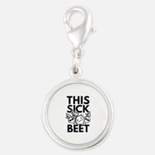 This Sick Beet Silver Round Charm