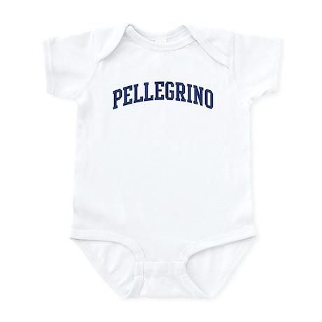 PELLEGRINO design (blue) Infant Bodysuit