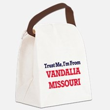 Trust Me, I'm from Vandalia Misso Canvas Lunch Bag