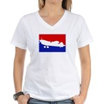 Major League Fly Women's V-Neck T-Shirt