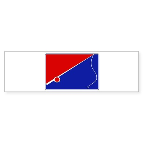 Major League Fishing Bumper Sticker