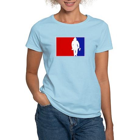 Major League Firefighter Women's Light T-Shirt