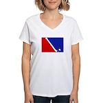 Major League Field Hockey Women's V-Neck T-Shirt